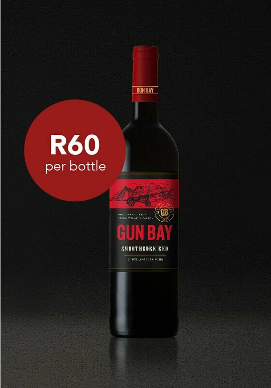 Case of Gun Bay Smoothbore Red Blend