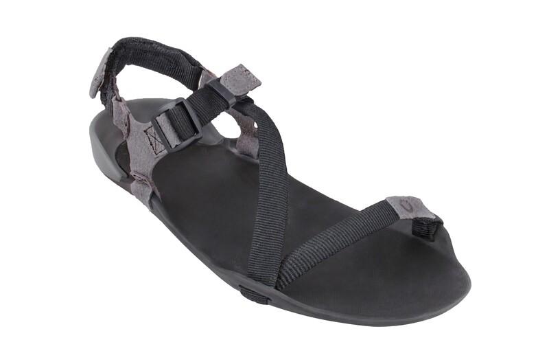 Z-TREK Women - The Lightweight Packable Sport Sandal - Coal Black