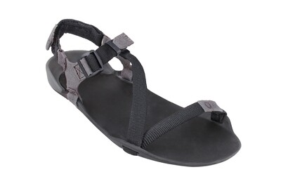 Z-TREK Women - The Lightweight Packable Sport Sandal - Coal Black