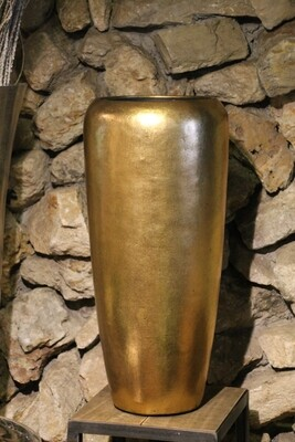 Großgefäße indoor gold  75 cm