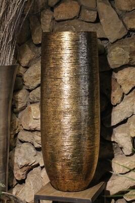Großgefäße indoor gold  98 cm hoch
