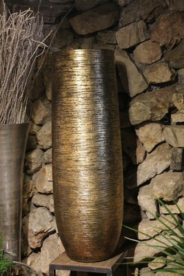 Großgefäße indoor gold  117 cm hoch