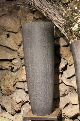 Großgefäß Vase steingrau 97 cm hoch