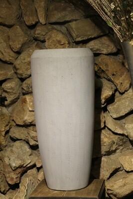 Großgefäß Vase Zement Optik 75 cm hoch