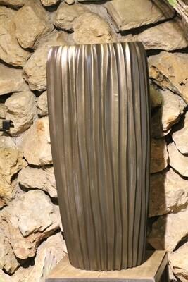 Großgefäß Vase graphit 75 cm hoch