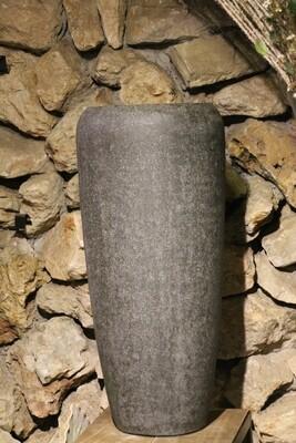 Großgefäß Vase steingrau 75 cm hoch