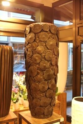 Großgefäß Vase graphit  97 cm hoch