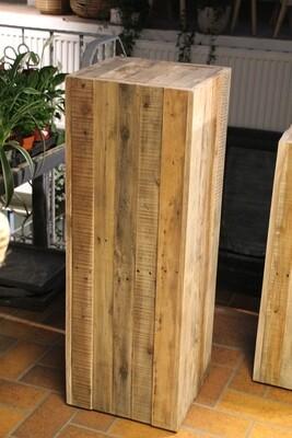 Holzsäule 100 cm hoch