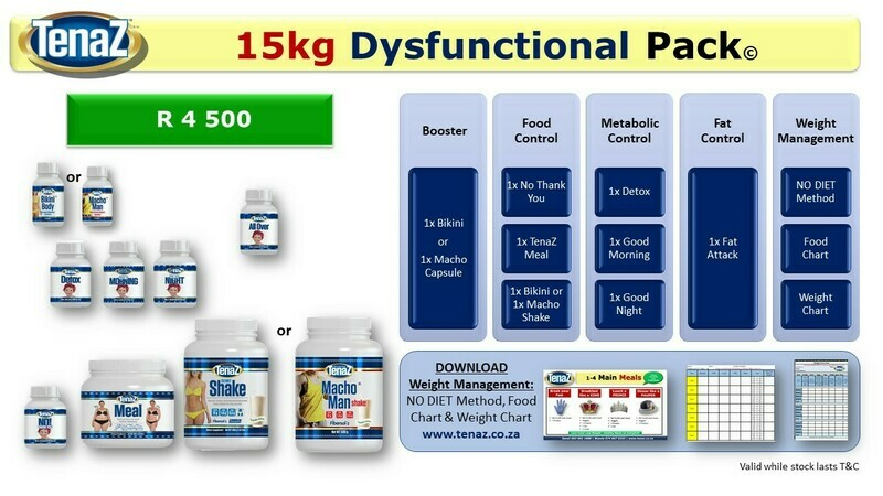 15kg - Dysfunctional Pack