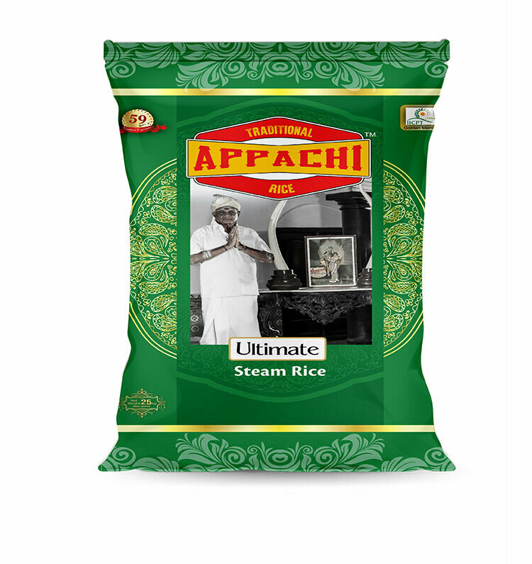 Ultimate Steam Rice - 25 Kg.