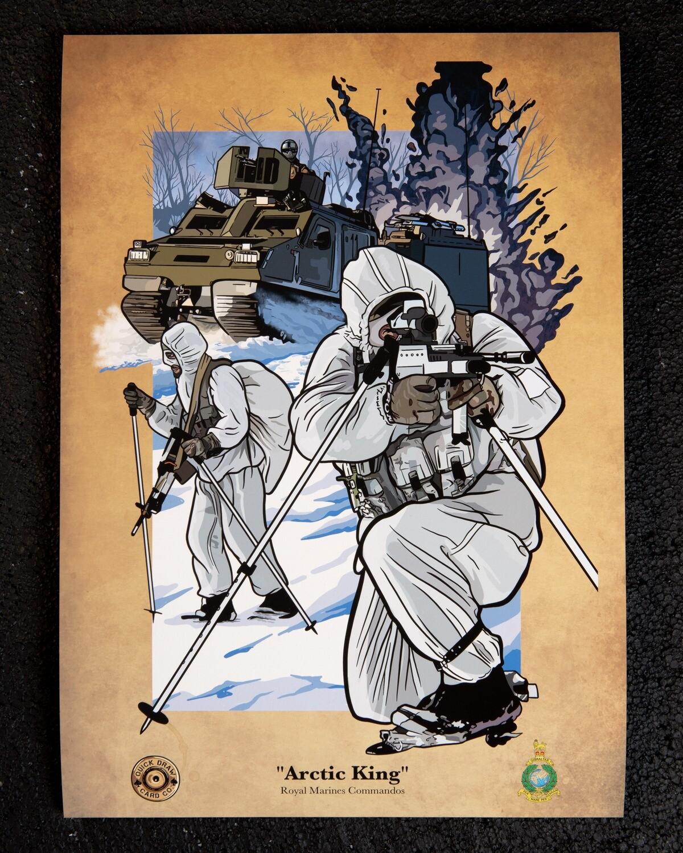 A3 Print   Arctic King