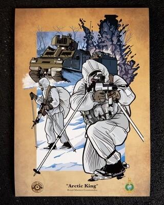 PRE-SALE A3 Print | Arctic King