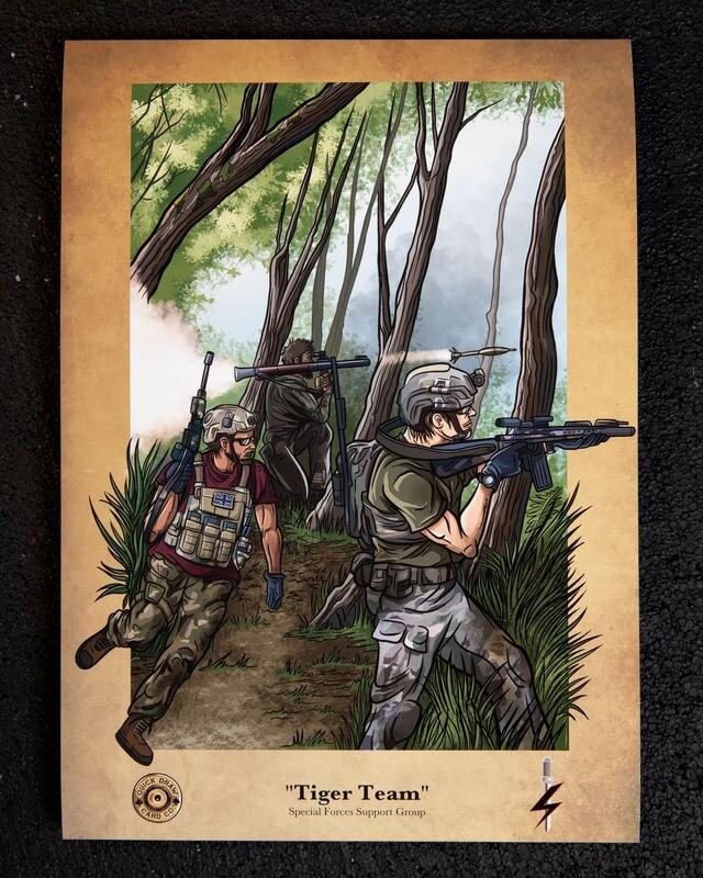 A3 Print | Tiger Team