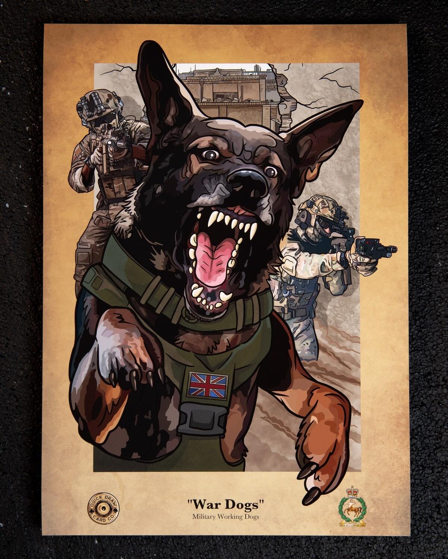 A3 Print | War Dogs