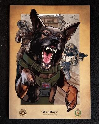 PRE-SALE A3 Print | War Dogs