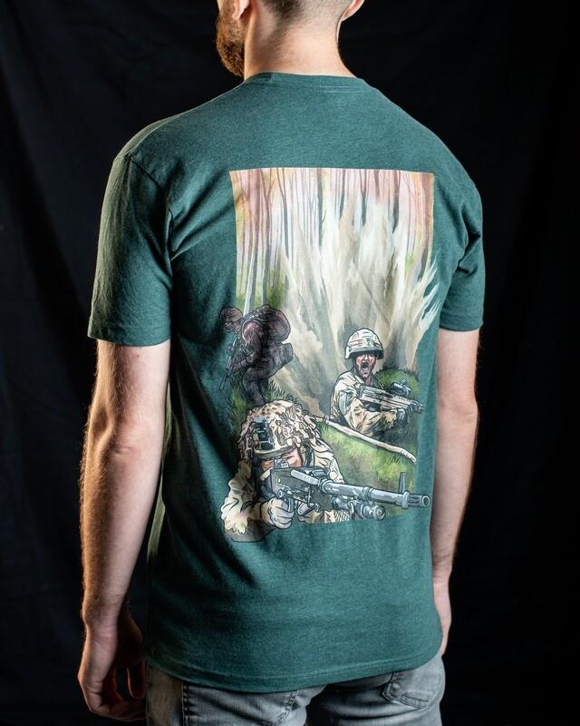 T-Shirt | Wood Block