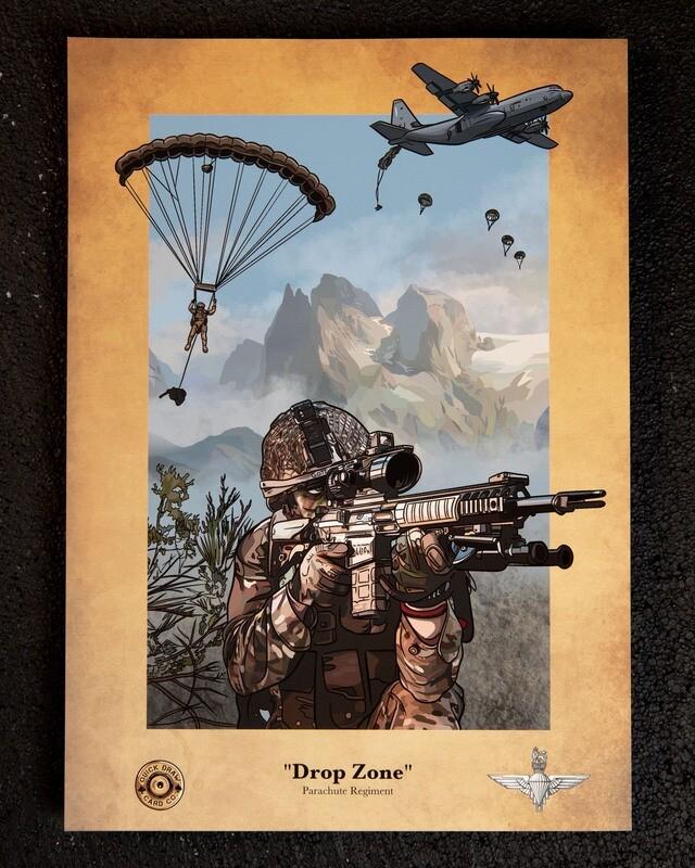 A3 Print | Drop Zone