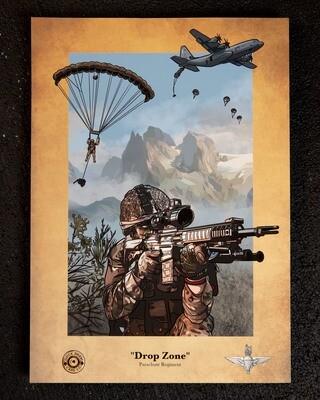 PRE-SALE A3 Print | Drop Zone