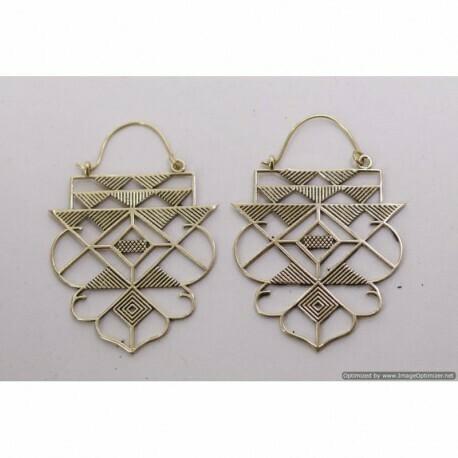 Brass Earing CC/E806