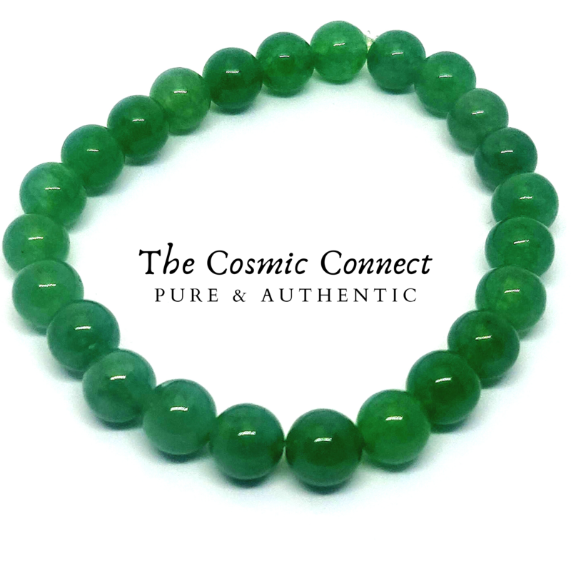 Green Aventurine Bracelet (12mm beads)