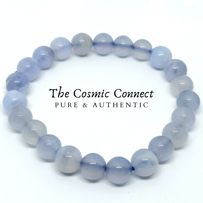 Blue Lace Agate Star Bracelet