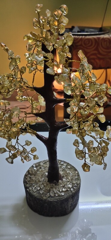 Natural Tree - Citrine