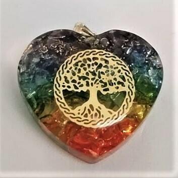 7 Chakra Heart Orgone