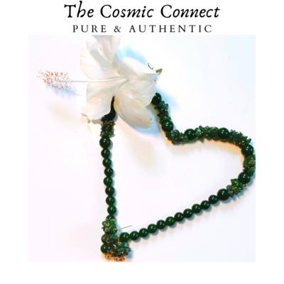Green Jade Necklace Set