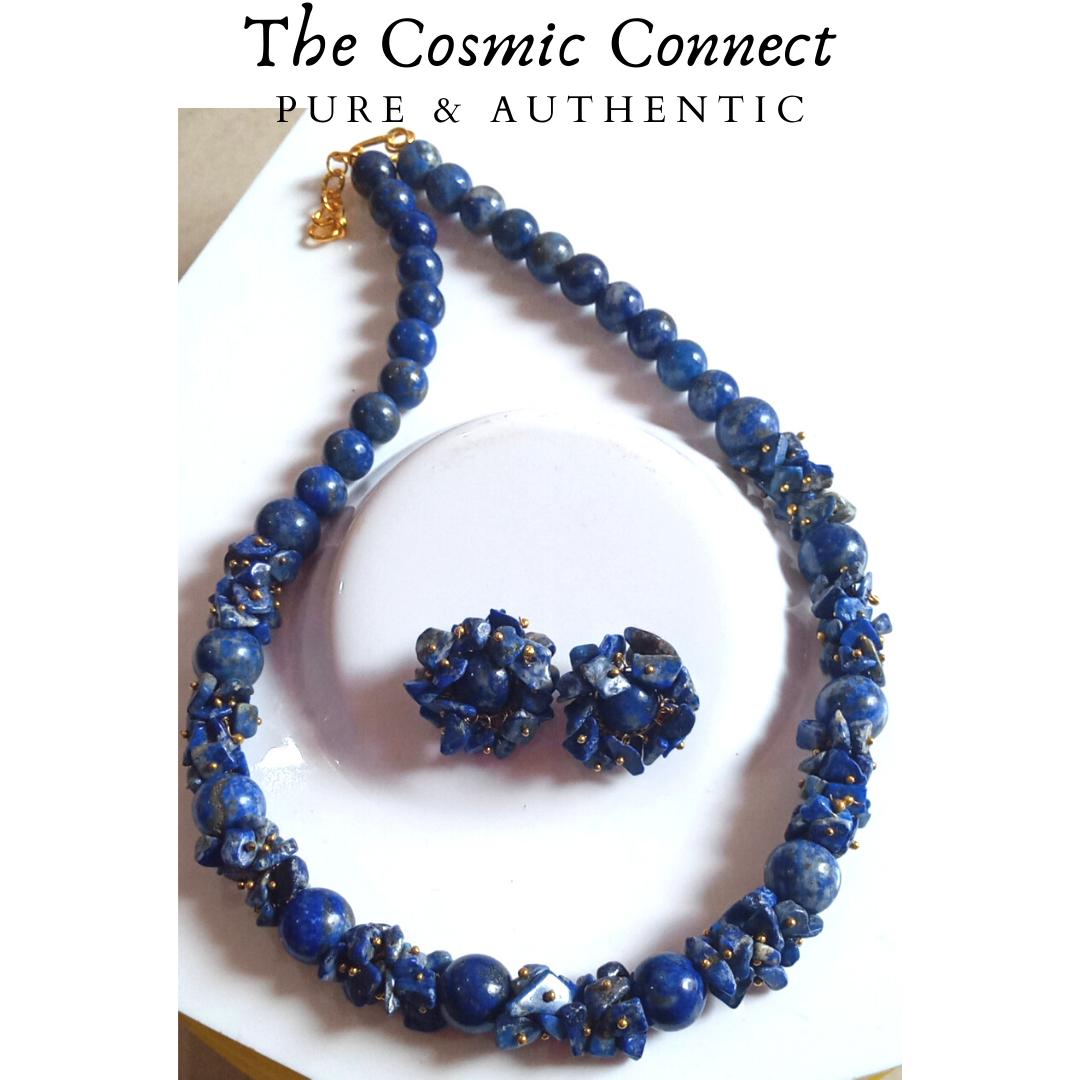 Lapis Lazuli Necklace Set