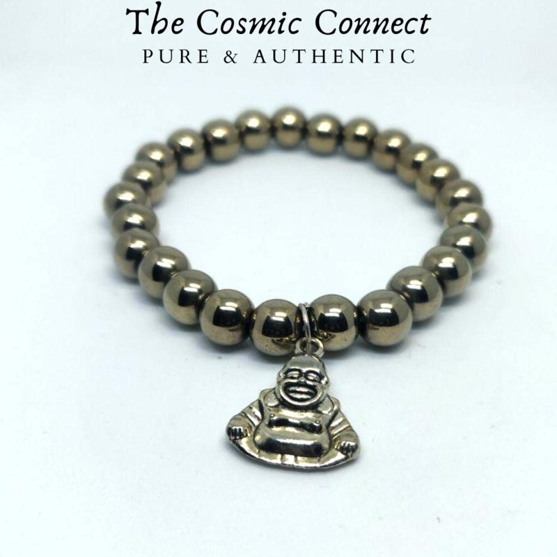 Pyrite Bracelet (with charm)