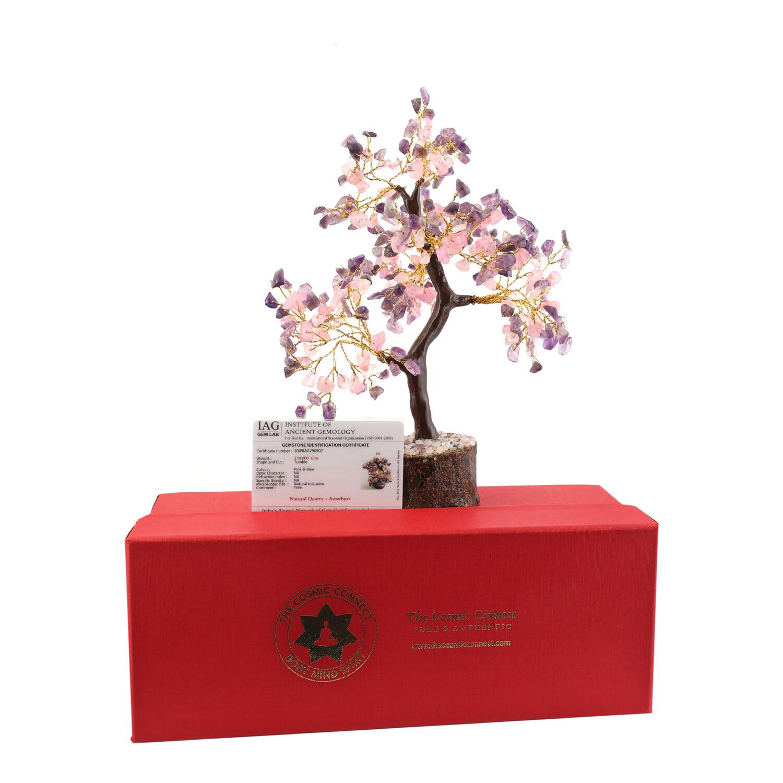 Rose & Amethyst Tree