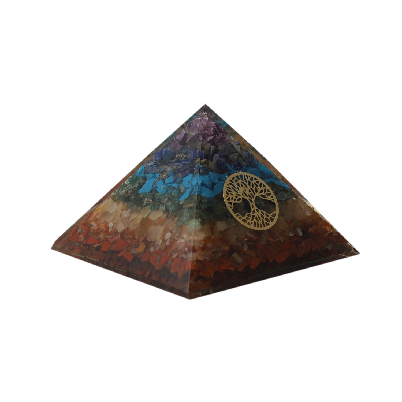 7 Chakra Orgon Pyramid