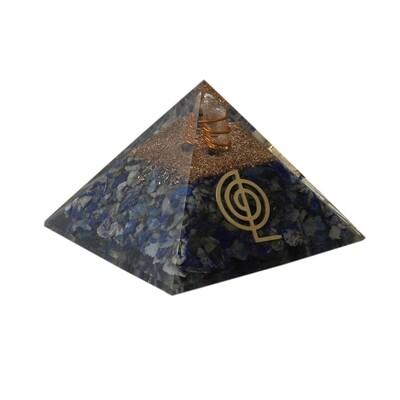 Lapis Lazuli Orgon Pyramid
