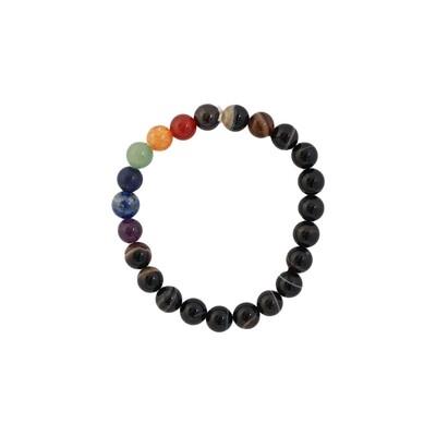 Sulemani Hakik 7 Chakra Bracelet