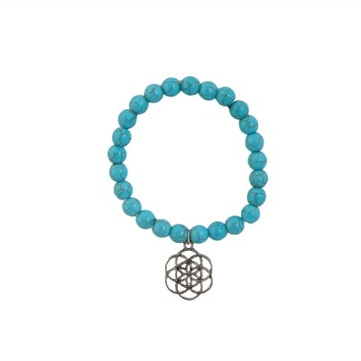 Turquoise Bracelet (with charm)