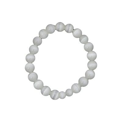 Selenite Bracelet 10mm beads