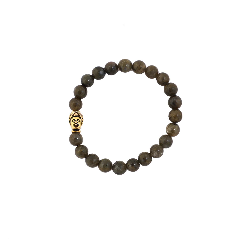 Labradorite Bracelet (With Buddha)