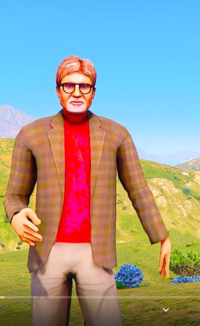 Amitabh Bacchan Mod Cartoony {GTA5 MODS}