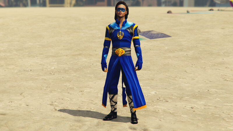 Flying Jatt Tiger shroff with turban and without it pack of 2 {GTA5 MODS}