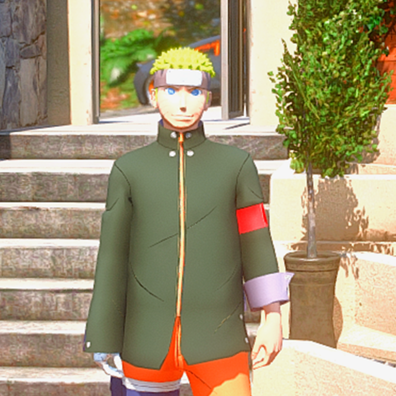Naruto Mission Battle OutFit [ GTA 5 MODS ]