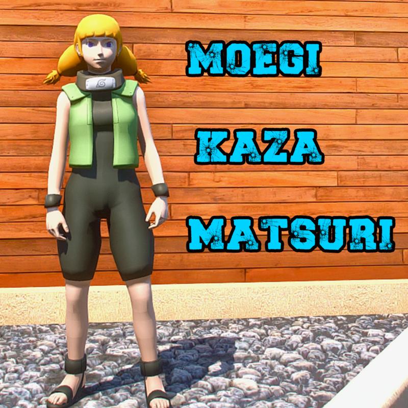Moegi Kazamatsuri ADD ON PED NARUTO [ GTA 5 ]