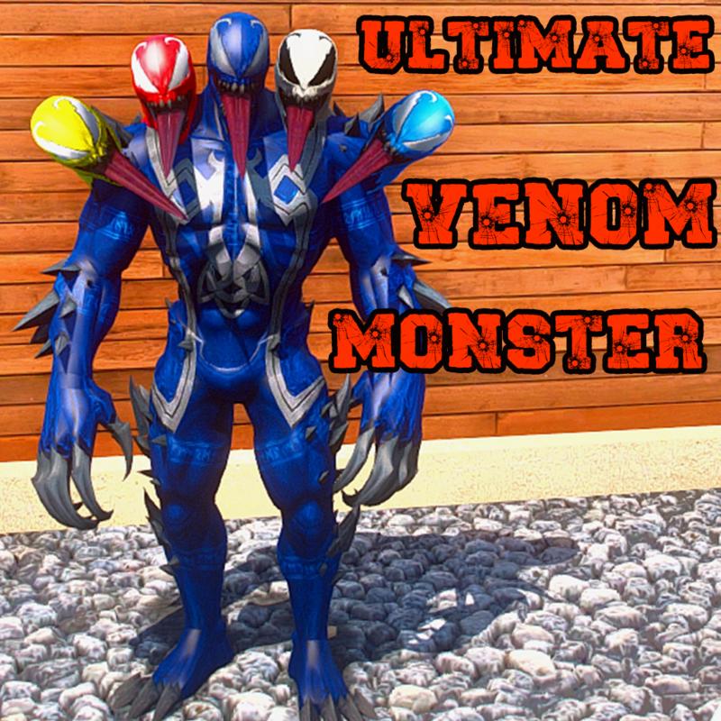 ULTIMATE MONSTER VENOM - 5 HEADS  ADDON PED [ GTA 5 ]