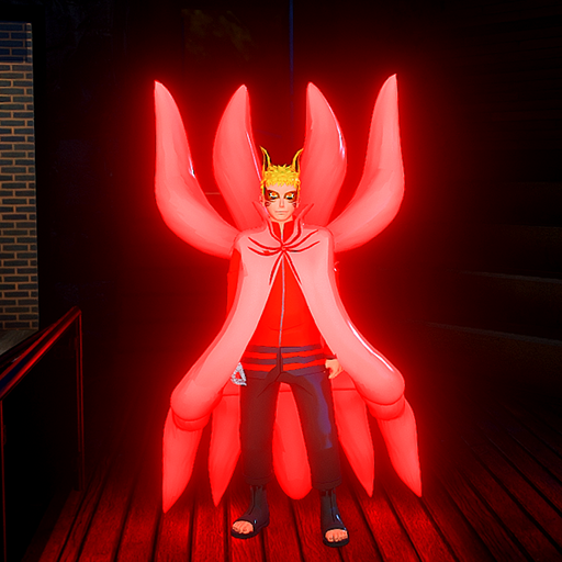 NARUTO BARION MODE GLOW AND NO GLOW COMBO PACK