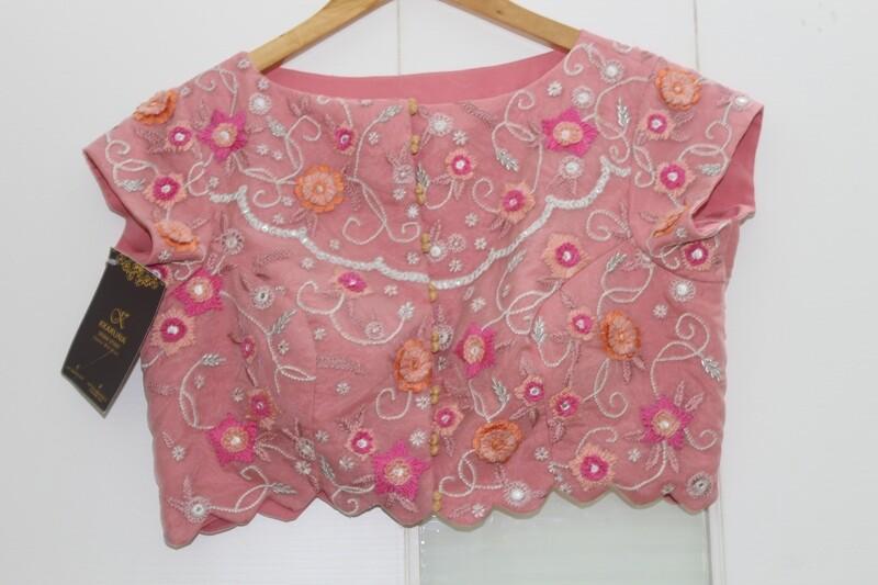 Cherry Blossom Designer Blouse