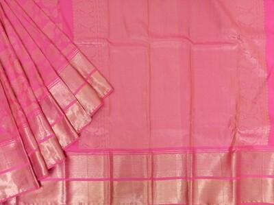 Blush Pink kanchi saree