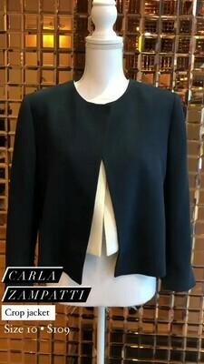 Carla Zampatti, Crop Jacket, Size 10