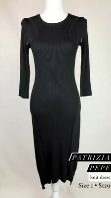 Patrizia Pepe, Knit Dress, Size 1