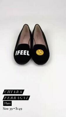 Chiara Ferragni, Flats, Size 39
