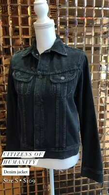 Citizens Of Humanity, Denim Jacket, Size S