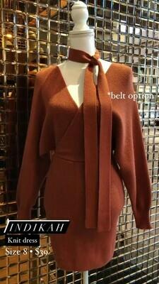 Indikah, Knit Dress, Size 8
